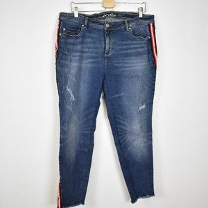 INC Denim side Stripe size 16W